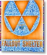 Fallout Shelter Wall 7 Metal Print