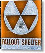 Fallout Shelter Wall 8 Metal Print