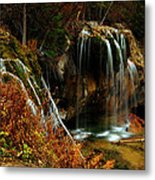 Falls At Hanging Lake Metal Print
