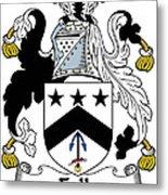 Falls Coat Of Arms Irish Metal Print