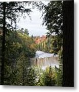 Falls In The Distance Metal Print