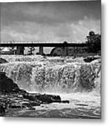 Falls Of The Big Sioux Metal Print