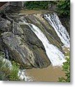 Falls On The Coeyman Creek Metal Print