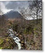 Falls On The River Coupall Metal Print