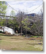 Falls Park On The Reedy Greenville Metal Print