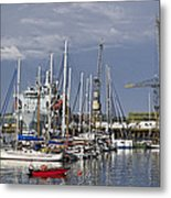 Falmouth Harbour And Docks Metal Print