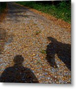 Familiar Shadows Metal Print