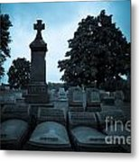 Family At Rest Metal Print