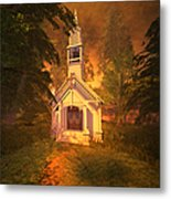 Family Chapel Metal Print