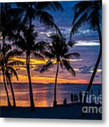 Family Journey Into The Night Metal Print