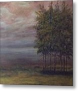 Family Of Trees Metal Print