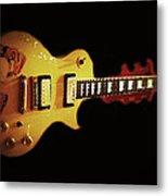 Famous Guitar Metal Print by Patricia Januszkiewicz
