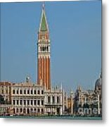 Famous Venice Italy Metal Print