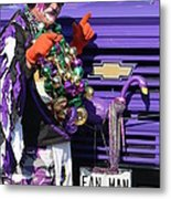 Fan Man 1 Metal Print