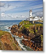 Fanad Lighthouse Donegal Ireland Metal Print