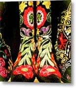 Fancy Boots Metal Print