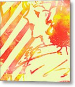 Fancy Woman Metal Print