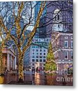 Faneuil Hall Holiday Metal Print