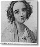 Fanny Caecilie Mendelssohn  Sister Metal Print