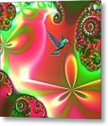 Fantasia Metal Print by Sharon Lisa Clarke