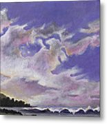 Fantastic Sunset North Shore Oahu Hawaii Metal Print