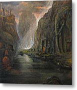 Fantasy 2 The Mystery Of A Dream Metal Print