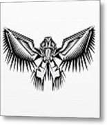 Fantasy Bird  Metal Print