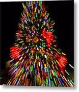 Fantasy Christmas Tree Metal Print