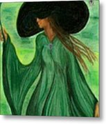Fantasy Fashion Metal Print by Carrie Viscome Skinner