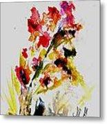 Fantasy Flowers 3 Metal Print