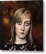 Fantasy Portrait Metal Print