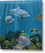 Fantasy Reef Re0020 Metal Print