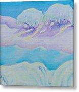 Fantasy Snowscape Metal Print