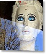 Far Away Eyes Metal Print