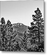 Far Side Of The Mountain Metal Print