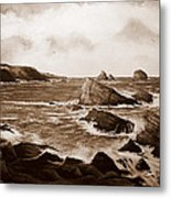 Faraid Head Durness Scotland Metal Print