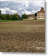 Farm Castle Metal Print