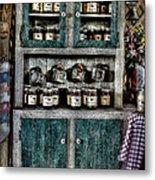 Farm Cupboard Metal Print by David Morefield
