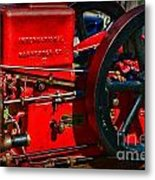 Farm Equipment - International Harvester Feed And Cob Mill Metal Print