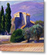 Farm House In Provence Metal Print