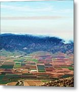 Farm Land Metal Print
