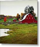 Farm Perfect Metal Print by Marty Koch