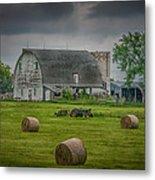 Farm Scene Metal Print