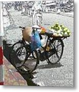 Farm Stand Metal Print by Jack Gannon