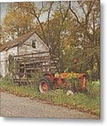 Farm Still Life Metal Print