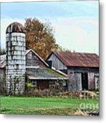 Farm - The Old Barn Metal Print