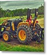 Farm Tractor Metal Print