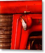 Farm - Tractor - The Tractor Metal Print