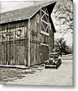 Farm Transport Metal Print