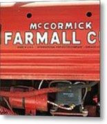 Farmall Cub Metal Print